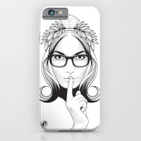 iPhone & iPod Case featuring SHHHHH! by Chris Bliss