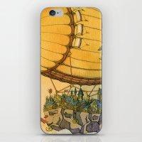 Atlantis Stamp iPhone & iPod Skin
