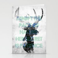 Adopt The Pace Of Nature… Stationery Cards