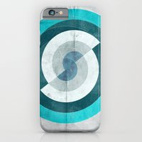iPhone & iPod Case featuring Blue Chaos by Tanguy Albrici