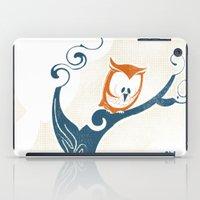 Little Owlet In A Tree iPad Case