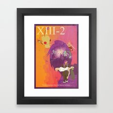 Vintage FF Game Poster XIII-2 Framed Art Print