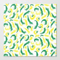 Full Colours green and yellow Summer 2013  Canvas Print