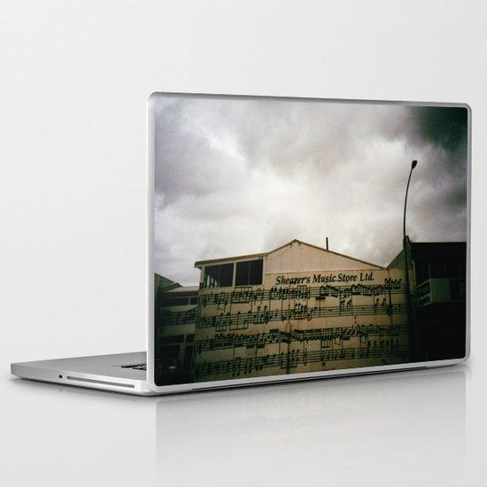 The Music Store Laptop & iPad Skin