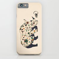 iPhone & iPod Case featuring rhino by Börg