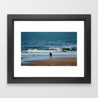 Together Like This Framed Art Print