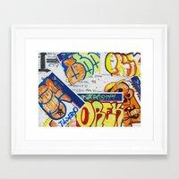 Philly To Brazil Framed Art Print