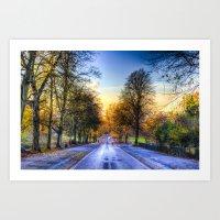 Greenwich Park London Art Print