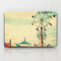 Get your ticket to ride. iPad Case
