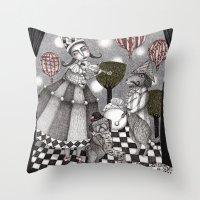 Alice's After Tea Concert Throw Pillow