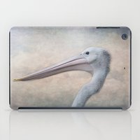 Portrait Of A Pelican iPad Case