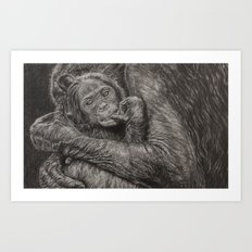 I protect you Art Print
