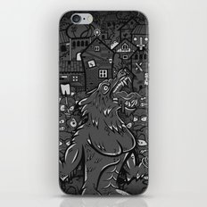 WOLVES OF PERIGORD iPhone & iPod Skin