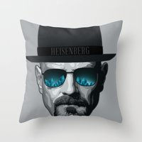 Breaking Bad Heisenberg Throw Pillow