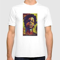Portrait * Darren Le Gal… Mens Fitted Tee White SMALL