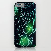 iPhone & iPod Case featuring Spider Web by Derek Fleener