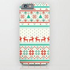Festive Fair Isle Slim Case iPhone 6s