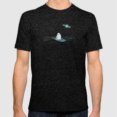 A Space Odyssey Mens Fitted Tee Tri-Black SMALL