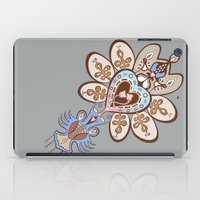 Flowering Heart iPad Case