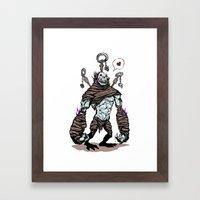 BFF - Diablo - Gargantuan Framed Art Print