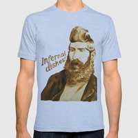 Infernal dishes Mens Fitted Tee Athletic Blue SMALL