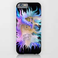 Woman Horse and Butterfly iPhone 6 Slim Case