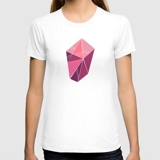 Pattern, pink T-shirt