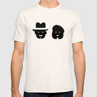 bonnie & clyde Mens Fitted Tee Natural SMALL