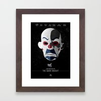 The Dark Knight Framed Art Print