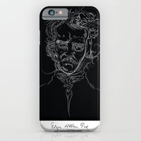 iPhone & iPod Case featuring edgarBlack by bRIZZO