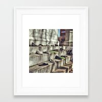 making a statement Framed Art Print
