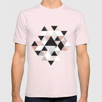 Graphic 202 Mens Fitted Tee Light Pink SMALL
