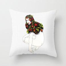 Meadow Fairy Throw Pillow