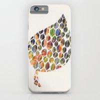 Leafy Palette Ecru iPhone 6 Slim Case