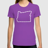 Ride Statewide - Oregon Womens Fitted Tee Ultraviolet SMALL