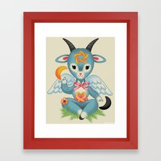 Baby's First Baphomet Framed Art Print