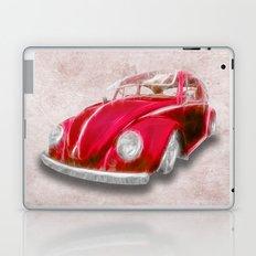 VW Beetle Red Laptop & iPad Skin