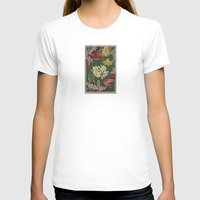 Sitting In The Garden Womens Fitted Tee White SMALL