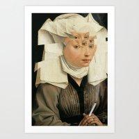 van Weyden und das Laster Art Print