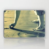 Girl on the Beach Laptop & iPad Skin