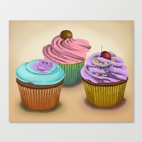 Cupcakes!  Canvas Print