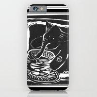 elefante col caffe' iPhone 6 Slim Case
