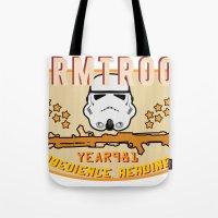 Stormtrooper College Tee Tote Bag