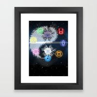 Lantern Corp - Life Give… Framed Art Print