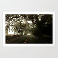 blur 12 Art Print
