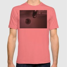 drain Mens Fitted Tee Pomegranate SMALL