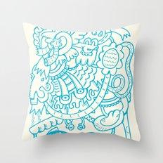 Freak Show Throw Pillow
