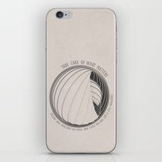 What Matters iPhone & iPod Skin