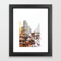 City scape I Framed Art Print
