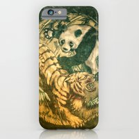 iPhone & iPod Case featuring Eternal Struggle by Costello Bros.